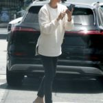 Diane Kruger in a White Sweatshirt Was Seen Out in Los Angeles