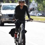 Goldie Hawn Does a Bike Ride Out with Kurt Russell in Brentwood