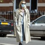 Kate Moss in a Protective Mask Was Seen Out in London