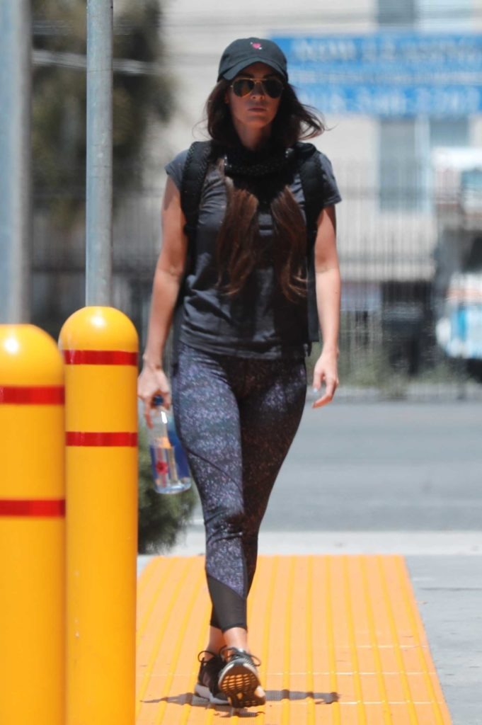 Megan Fox in a Black Sneakers