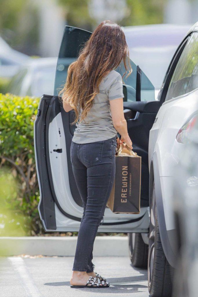 Megan Fox in a Camo Tee