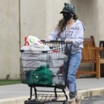 Sarah Jessica Parker in a Black Protective Mask Goes Grocery Shopping in New York