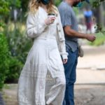 Whitney Port in a White Dress Was Seen Out with Tim Rosenman in Los Angeles