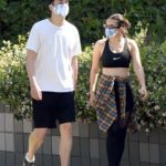 Charli XCX in a Black Sports Bra Was Seen Out with Her Boyfriend Huck Kwong in Los Angeles
