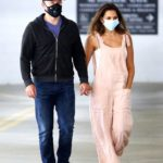 Matt Damon in a Black Cap Was Seen Out with Luciana Barroso in Santa Monica