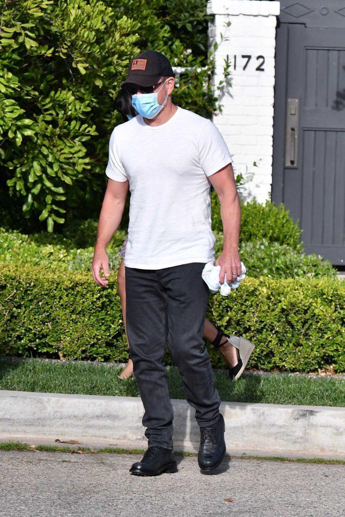 Matt Damon in a White Tee