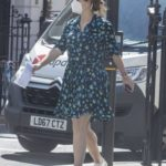 Princess Eugenie in a Protective Mask Was Seen Out in London