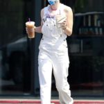 Scout Willis in a White Coverall Was Seen Out in Los Angeles