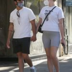 Sophie Turner in a Protective Mask Was Seen Out with Joe Jonas in Studio City