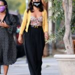 Vanessa Hudgens in a Black Protective Mask Was Spotted Out with Her Mom in LA