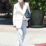 Cara Santana in a White Blazer Was Seen Out in West Hollywood