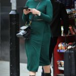 Daisy Lowe in a Green Dress Was Seen Out in Central London