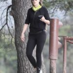 Helen Hunt in a Black Cap Was Seen Out in Brentwood