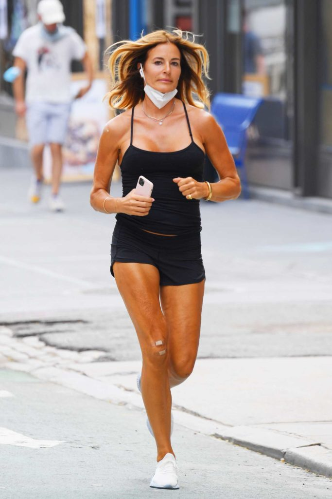 Kelly Bensimon in a Black Top