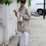 Kylie Minogue in a Black Cap Was Seen Out in London