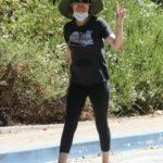Lisa Rinna in a Black Tee Was Seen Oot in Los Angeles