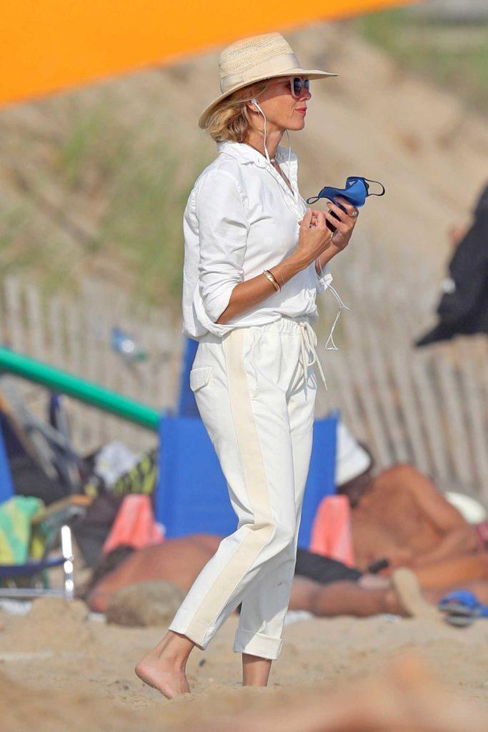 Naomi Watts in a White Shirt