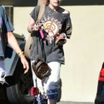 Paris Jackson in a Gray Tee Was Seen Out in Los Angeles