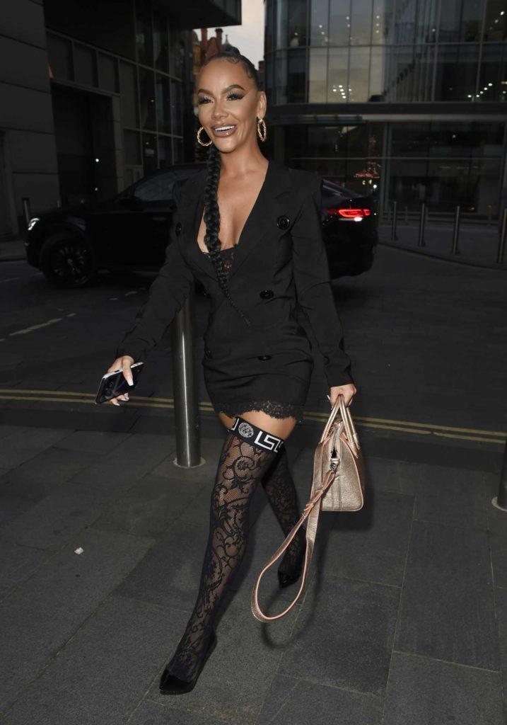 Chelsee Healey in a Black Blazer