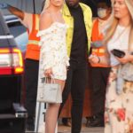 Lindsey Vonn in a White Mini Dress Was Seen Out in Malibu