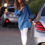 Maria Shriver in a White Pants Was Seen Out in Pacific Palisades