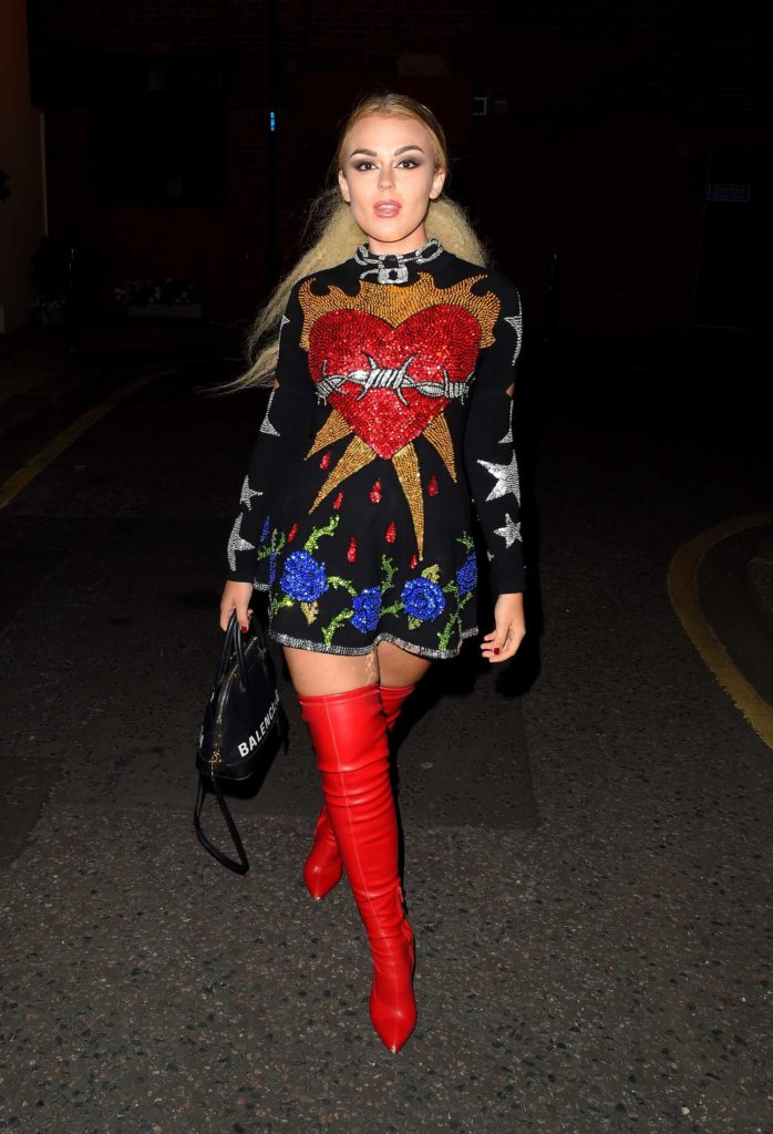 Tallia Storm in a Red Boots