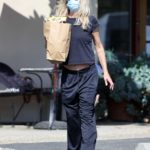 Meg Ryan in a Protective Mask Goes Shopping in Los Angeles