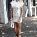 Olivia Attwood in a White Dress Was Seen Out in London