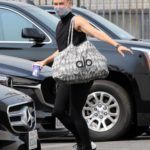 Peta Murgatroyd in a Black Top Arrives at the DWTS Studio in Los Angeles