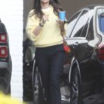 Ana de Armas in a Yellow Jumper Was Seen Out in Brentwood