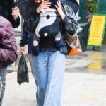 Chloe Sevigny in a Protective Mask Was Seen with Her Baby in New York