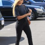 Daniella Karagach in a Converse Gym Shoes Heads to the DWTS Studio in Los Angeles