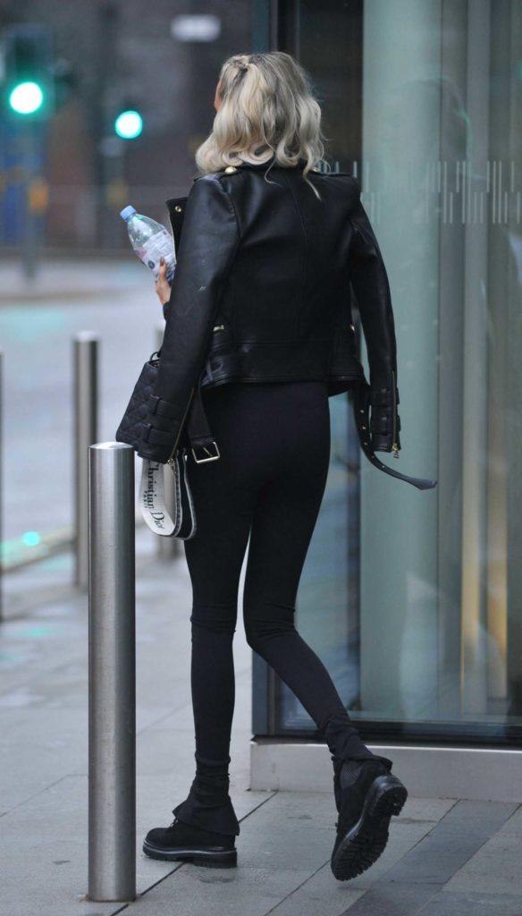 Olivia Attwood in a Black Jacket