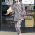 Scout Willis in a Striped Sweatsuit Was Seen Out in Los Feliz