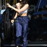 Eiza Gonzalez in a White Baseball Cap Was Seen Out in Los Angeles