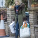 Kate Garraway Leaves Her Home in London
