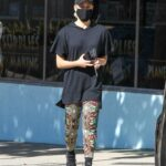 Peta Murgatroyd in a Black Cap Was Seen Out in Los Angeles