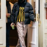 Bella Hadid in a Black Puffer Jacket Was Spotted Out in Soho, New York