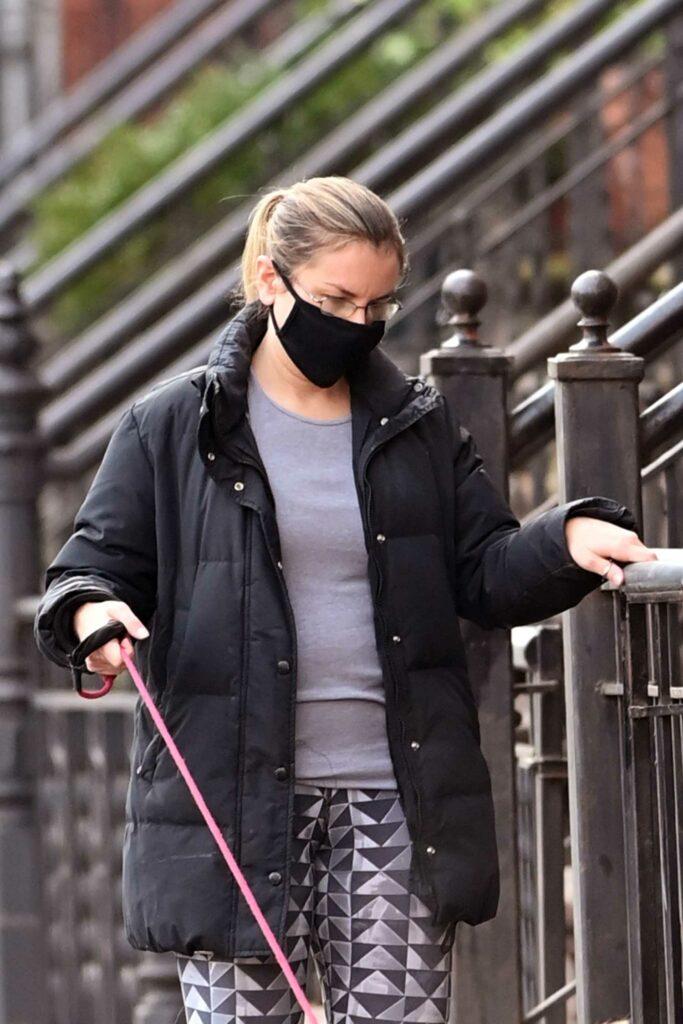 Christie Smythe in a Black Jacket
