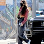 Shay Mitchell in a Black Protective Mask Was Seen Out in Los Angeles