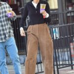 Cara Santana in a Tan Pants Was Seen Out in Los Angeles