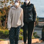 Laura Dern in a Protective Mask Was Seen Out with Her Daughter Jaya Harper in Pacific Palisades
