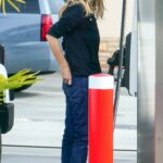 Meg Ryan in a Protective Mask Was Seen at a Gas Station in Los Angeles