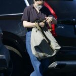 Rooney Mara in a Protective Mask Does a Trip to the Grocery Store in Los Angeles