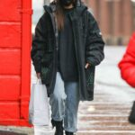 Rosalia in a Black Protective Mask Was Seen Out in New York