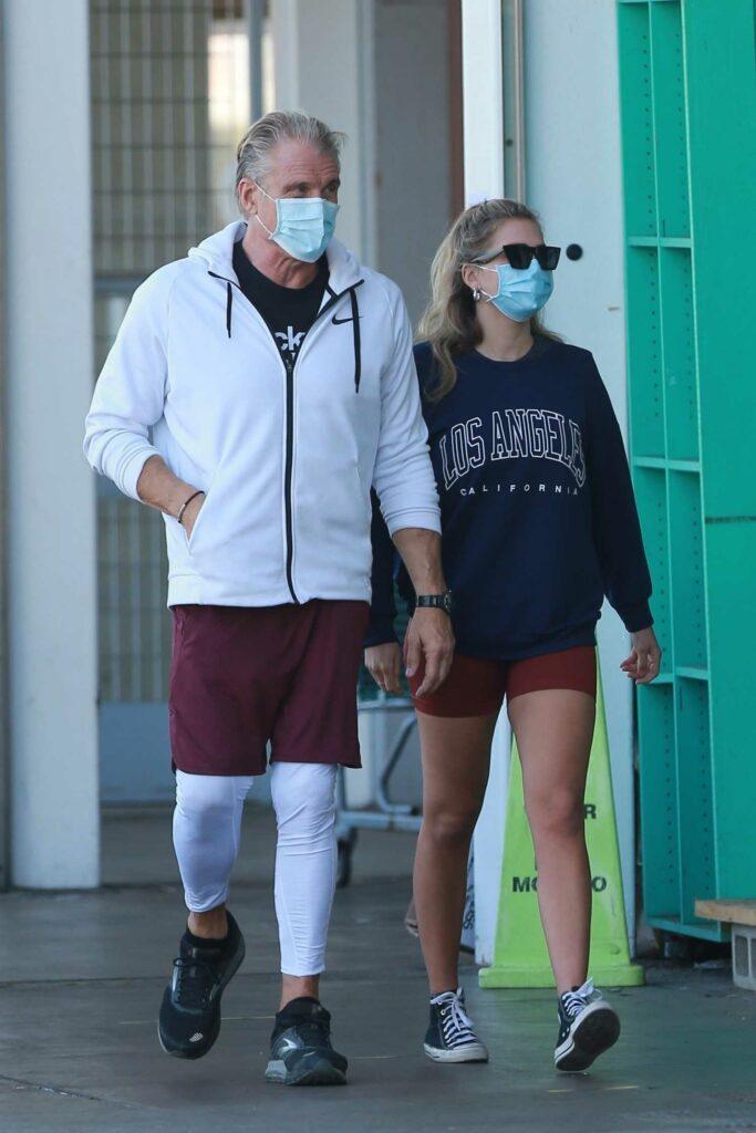 Emma Krokdal in a Protective Mask