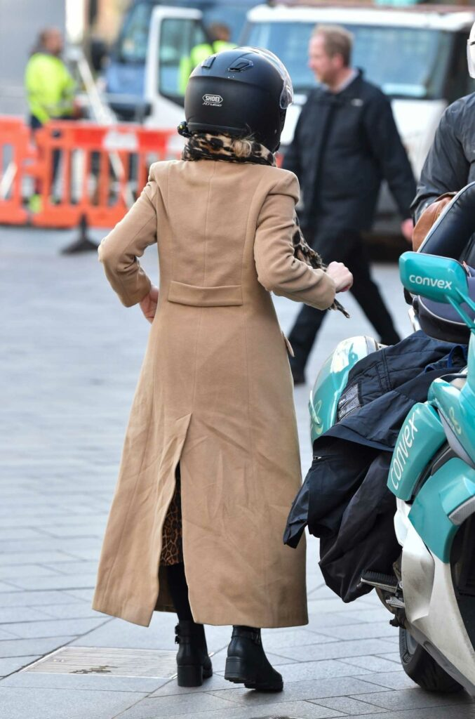 Kate Garraway in a Beuge Coat