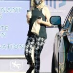Malin Akerman in a Black Tank Top Was Seen Out in Los Feliz