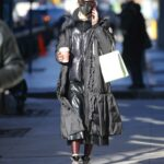 Olivia Palermo in a Black Puffer Coat Was Seen Out in New York