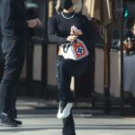 Pia Mia in a Black Outfit Was Seen Out in Beverly Hills